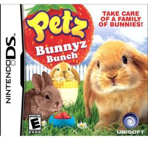Petz Bunnyz Bunch Video Game For Nintendo DS