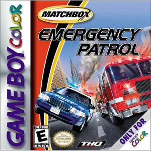 Matchbox Emergency Patrol Video Game For Nintendo GBC