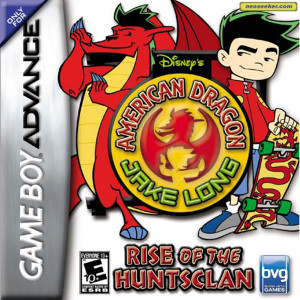 American Dragon Jake Long Rise of the Huntsclan Video Game For Nintendo GBA