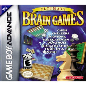 Ultimate Brain Games Video Game For Nintendo GBA