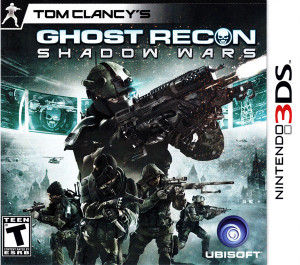 Ghost Recon Shadow Wars Video Game For Nintendo 3DS
