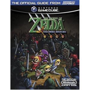 Legend of Zelda Four Swords Adventure Nintendo Power Official Game Guide For Nintendo GameCube