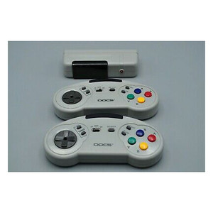 Docs Wireless Dual Turbo Controllers w/Receiver - SNES