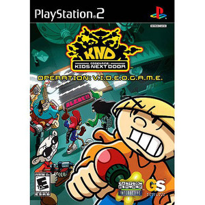 Codename Kids Next Door Operation Videogame Video Game For Sony PS2