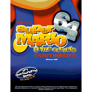 Super Mario 64 Game Secrets Unauthorized Prima Official Game Guide For Nintendo N64