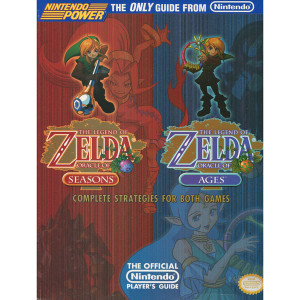 Legend of Zelda Oracle of Season and Legend of Zelda Oracle of Ages Nintendo Power Official Game Guide For Nintendo GBC