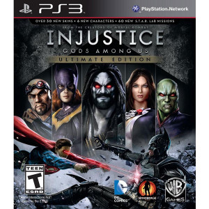 Injustice Gods Among Us Ultimate Edition Video Game For Sony PS3