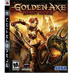 Golden Axe Beast Rider Video Game For Sony PS3