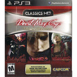 Devil May Cry HD Collection Video Game For Sony PS3