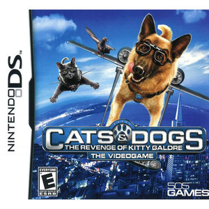 Cats & Dogs Revenge of Kitty Galore Video Game For Nintendo DS