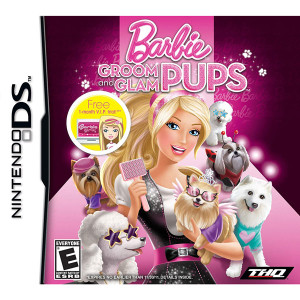 Barbie Groom and Glam Pups Video Game For Nintendo DS