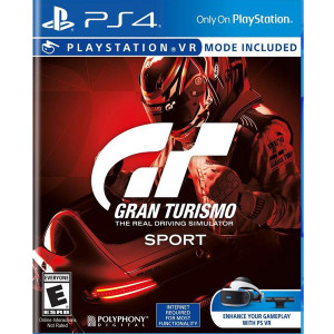 Gran Turismo Sport Video Game For Sony PS4