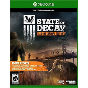 State of Decay Year-One Survival Edition Video Game For Microsoft Xbox One