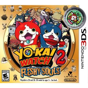 Yo-Kai Watch 2 Fleshy Souls Video Game For Nintendo 3DS