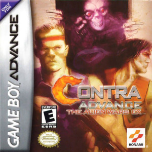 Contra Advance The Alien Wars EX Video Game For Nintendo GBA