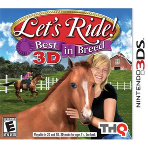 Let's Ride Best in Breed Video Game For Nintendo 3DS