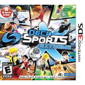 Deca Sports Extreme Video Game For Nintendo 3DS