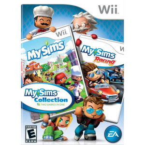 My Sims Collection Video Game For Nintendo Wii