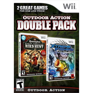 Outdoor Action Double Pack Video Game For Nintendo Wii
