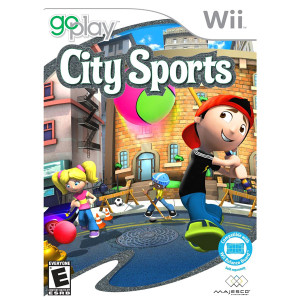 Go Play City Sports Video Game For Nintendo Wii