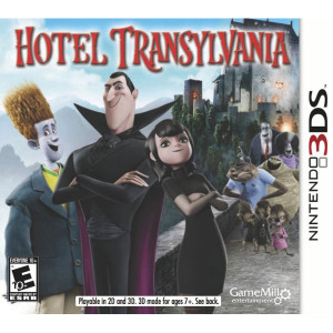Hotel Transylvania Video Game For Nintendo 3DS