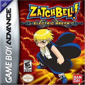Zatch Bell Electric Arena Video Game For Nintendo GBA