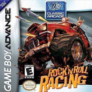 Rock 'n Roll Racing Video Game For Nintendo GBA