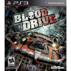 Blood Drive Video Game For Sony PS3