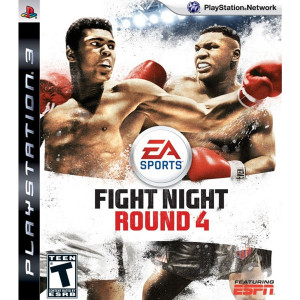 Fight Night Round 4 Video Game For Sony PS3