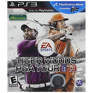 Tiger Woods PGA Tour 13 Video Game For Sony PS3