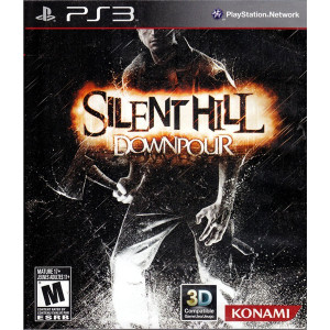 Silent Hill Downpour Video Game For Sony PS3