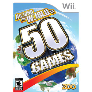 Around the World in 50 Games Video Game For Nintendo Wii
