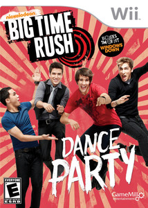 Big Time Rush Dance Party Video Game For Nintendo Wii