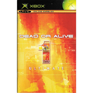 Dead or Alive 1 Ultimate Video Game for Microsoft Xbox