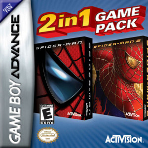 Spider-Man and Spider-Man 2 Video Game For Nintendo GBA