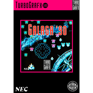 Galaga '90 Video Game For Turbo Graphx 16