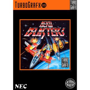 Aero Blasters Video Game For Turbo Grafx 16