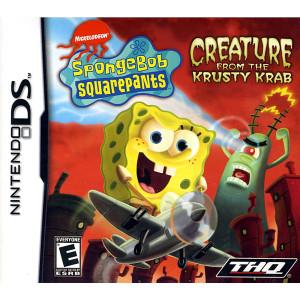 Spongebob Squarepants Creature From Krusty Krab Video Game For Nintendo DS