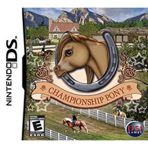 Championship Pony Video Game For Nintendo DS