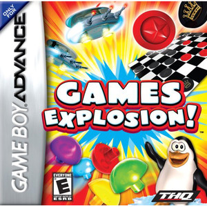 Games Explosion! Video Game For Nintendo GBA
