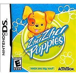 Zhu Zhu Puppies Video Game For Nintendo DS