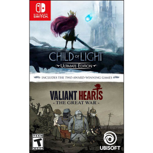 Child of Light and Valiant Hearts Video Game For Nintendo Switch