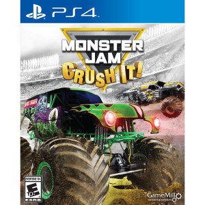 Monster Jam Crust It Video Game For Sony PS4