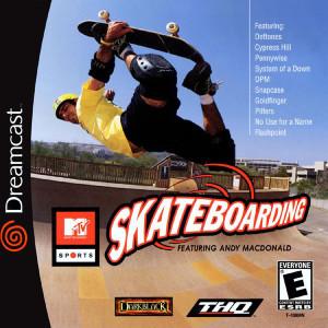 Skateboarding Video Game For Sega Dreamcast