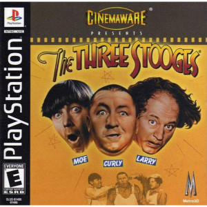 The Three Stooges Video Game For Sony PS1