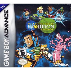 Alienators Evolution Continues Video Game For GBA