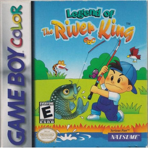 Legend of the River King Video Game For Nintendo GBC