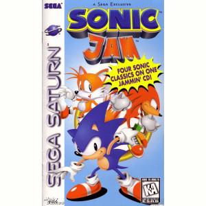 Sonic Jam Video Game For Sega Saturn