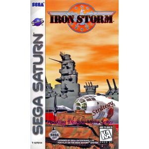 Iron Storm Video Game For Sega Saturn