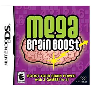 Mega Brain Boost Video Game For Nintendo DS